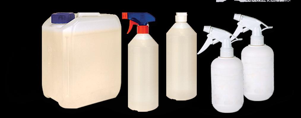 Rożne rodzaje butelek, kształty i pojemności